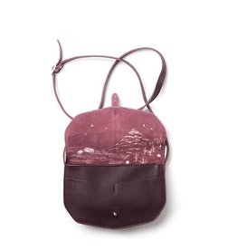 Keecie Move Mountains Bag Aubergine