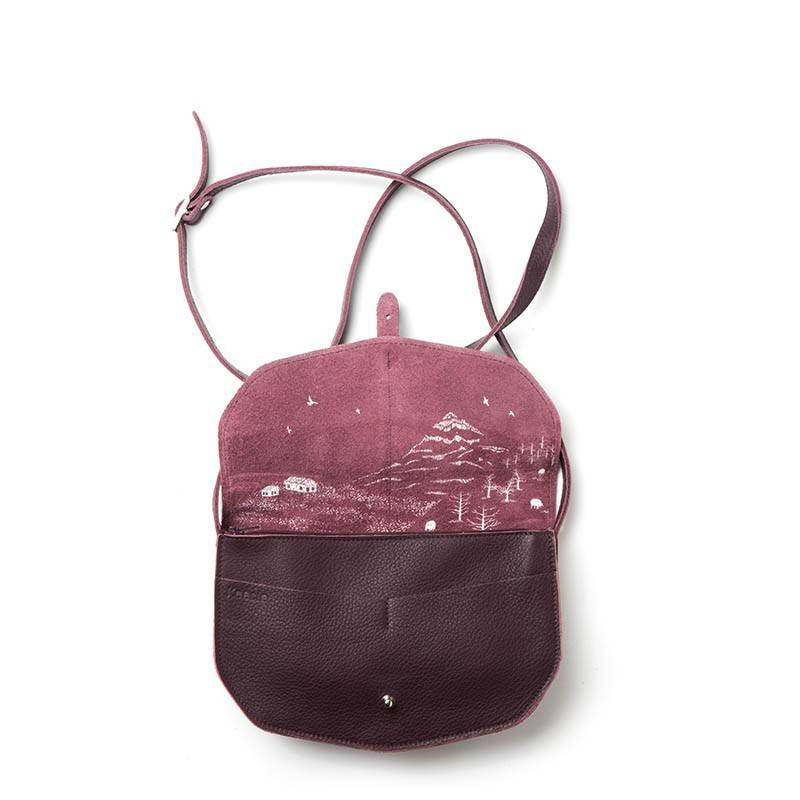 Move Mountains Tasche Aubergine