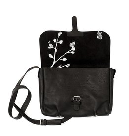 Keecie Tasche Flora & Fauna Schwarz