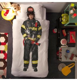 Snurk beddengoed Duvet Cover Firefighter Single