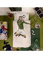 Bettbezug Fußballer Grün 1-Person