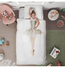 Snurk beddengoed Bettbezug Ballerina 1 Einzel