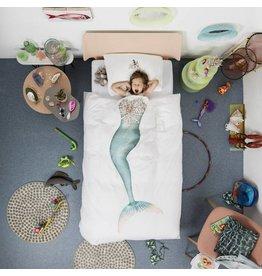 Snurk beddengoed Bettbezug Mermaid 1 Einzel
