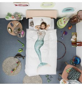 Snurk beddengoed Duvet cover Mermaid 1 Person