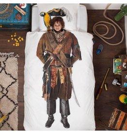 Snurk beddengoed Dekbedovertrek Piraat 1 Persoons