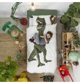 Snurk beddengoed Bettbezug Dino 1 Einzel