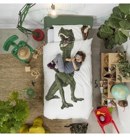 Snurk beddengoed Duvet Cover Dino Single