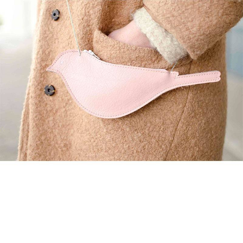 Tasje Tweet Bird soft pink