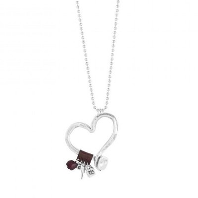 UNOde50 UNOde50 Ketting | LOVE AT FIRST SIGHT | COL0474MTMR