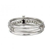 UNOde50 UNOde50 Armband | ANOTHER ROUND | ZILVER | 3 RINGEN