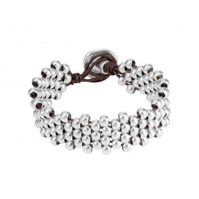 UNOde50 UNOde50 Armband | SLIPPING | Zilver | Kralen | PUL1176MTLMAR0M