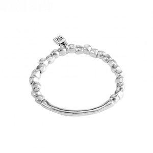 UNOde50 UNOde50 Armband | JOURNEY | Zilver | Elastisch