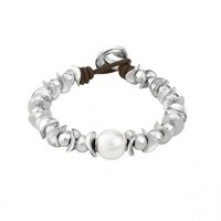 UNOde50 UNOde50 Armband | THE DESSERT PEARL | Parel | Zilver