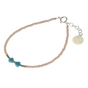 BLINCKSTAR BLINCKSTAR Armband - Rose Goldfilled | Howliet | Hartjes