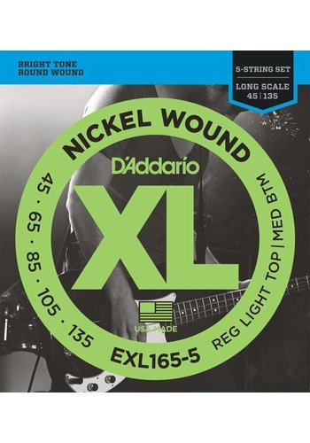 D'addario EXL 165-5