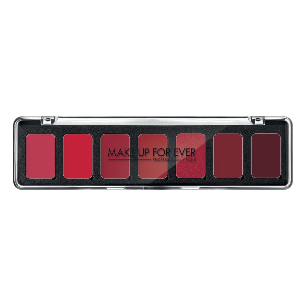 MUFE 7 ROUGE ART EMP PAL. PRO 7X08,g Harmonie H3 Rouge / Red