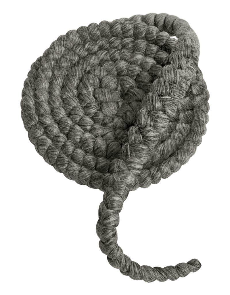 MUFE CREPE DE LAINE 1M N15 gris moyen / medium grey
