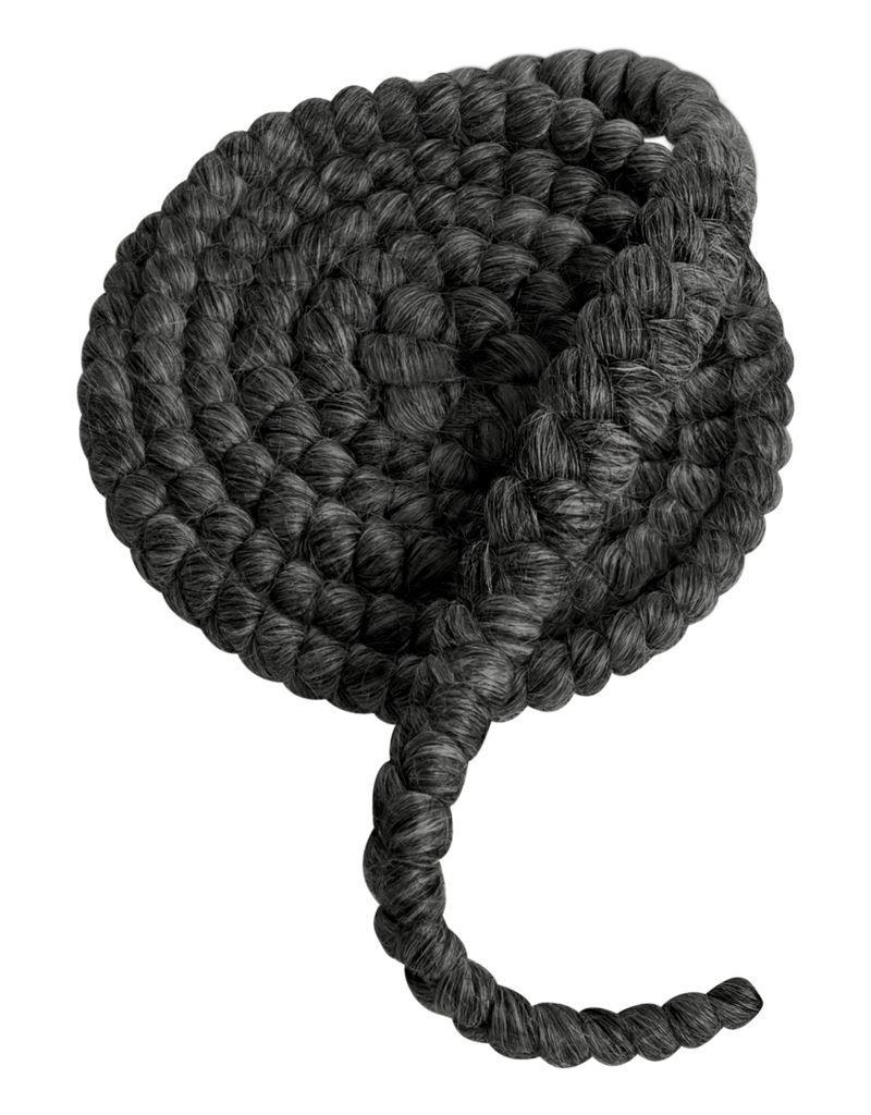 MUFE CREPE DE LAINE 1M N16 gris fonce/dark grey