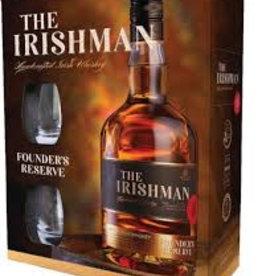 The Irishman Whisky, 2 glazen, 40%, 700 ml