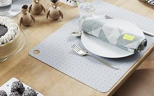 Design keuken benodigdheden van placemat, dienblad tot servies!