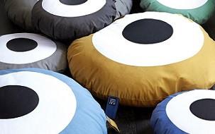 Trendy Deens design kussens van OYOY & KAI Copenhagen