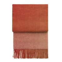 Elvang Denmark Plaid wol Horizon Pompeian Red
