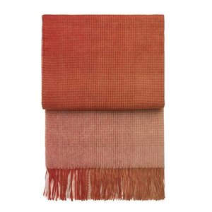 Elvang Plaid wol Horizon Pompeian Red