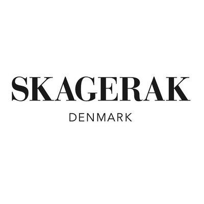 Skagerak Denmark Norr keukenrolhouder FSC eikenhout met leer