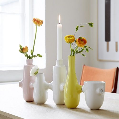 Prachtige vazen in keramiek & glas puur Deens design