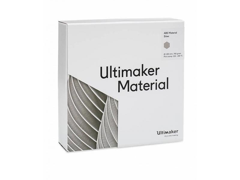 "Ultimaker Ultimaker ""ABS Silver (NFC)"""