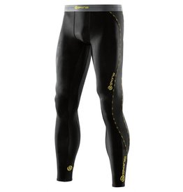 Skins Skins DNAmic Long Tight Black/Citr heren