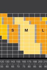 Skins Skins DNAmic Superpose 1/2 Tight Black/Citr heren