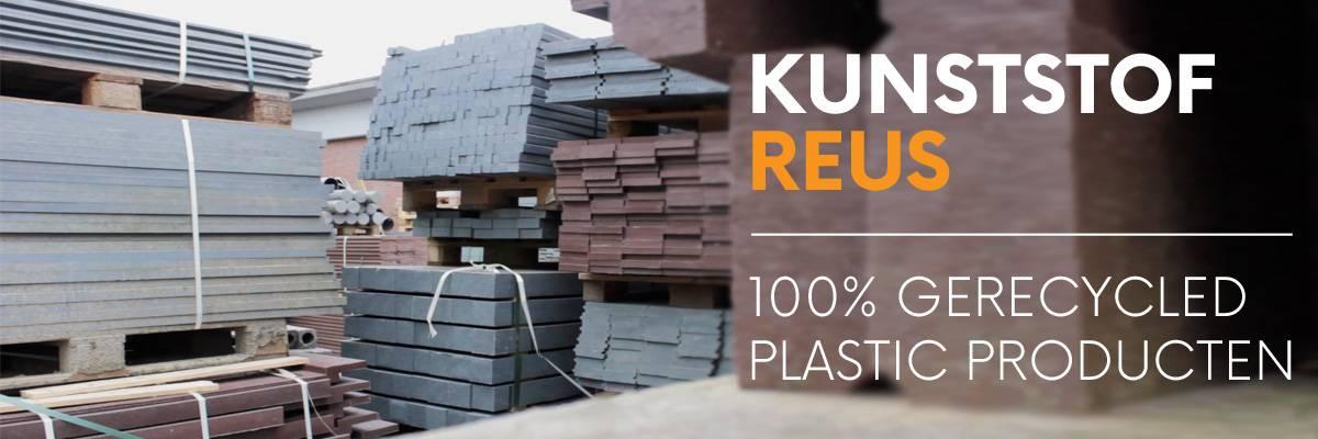 Duurzame producten van 100% gerecycled kunststof