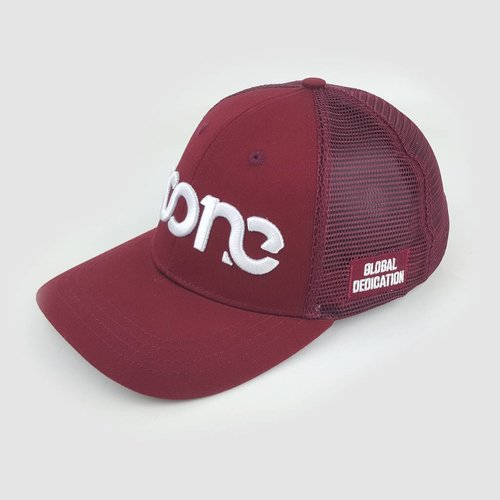 Burgundy Trucker Cap