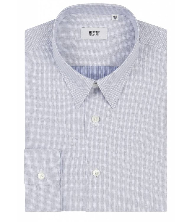 The Ace Shirt in Micro Circle Weave