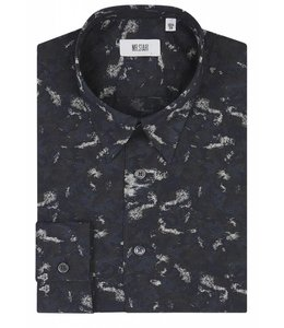 The Ace - Navy Camo Print