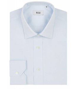 The Ritz Superfine Two Fold Cotton Shirt in Pale Blue