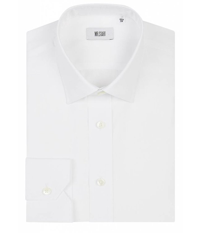 The Ritz Shirt in White