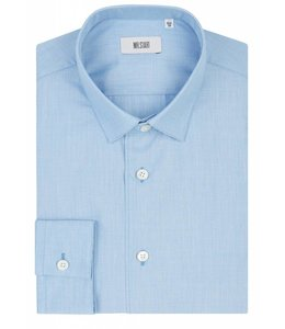 The Bower Super Fine 100% Cotton Shirt in Arctic Blue