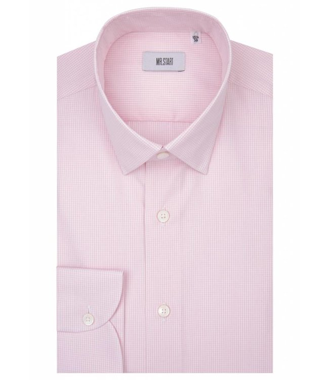 The Drake Shirt in Pink Gingham
