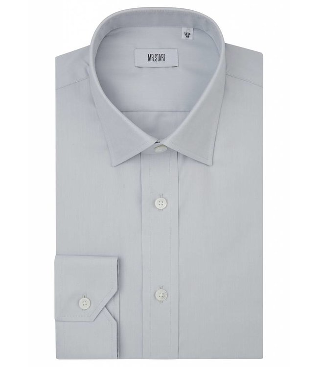 The Ritz Shirt in Pale Grey
