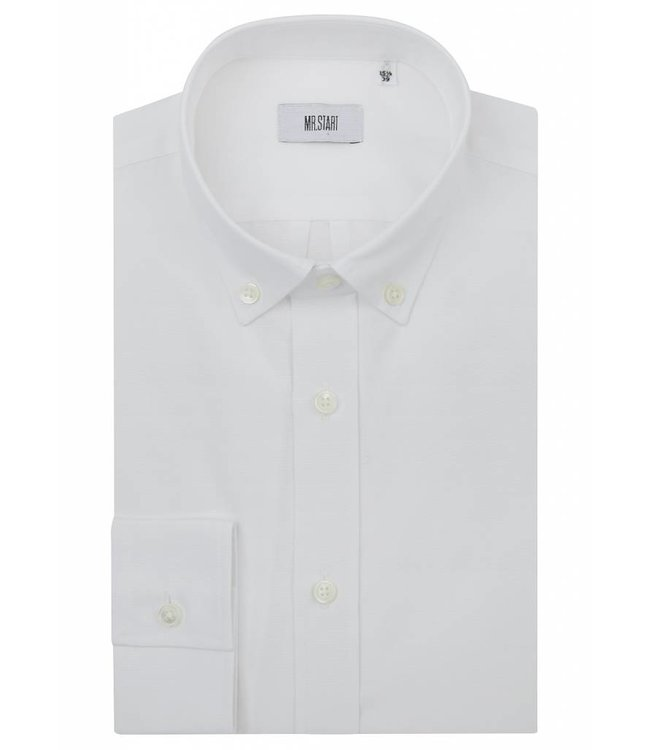 The Curtain 100% Super Fine Cotton Button Down in Crisp White