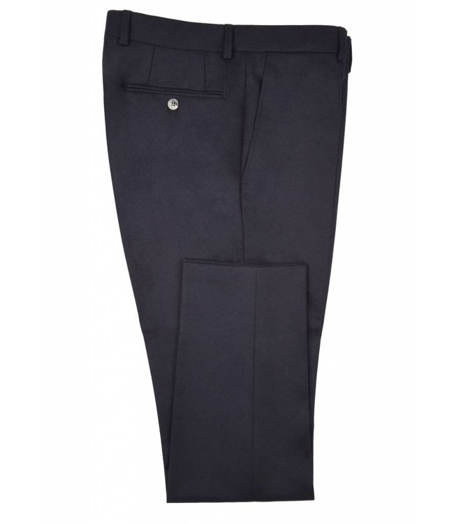 The Rivington Soft Brushed Flannel Trousers in Navy