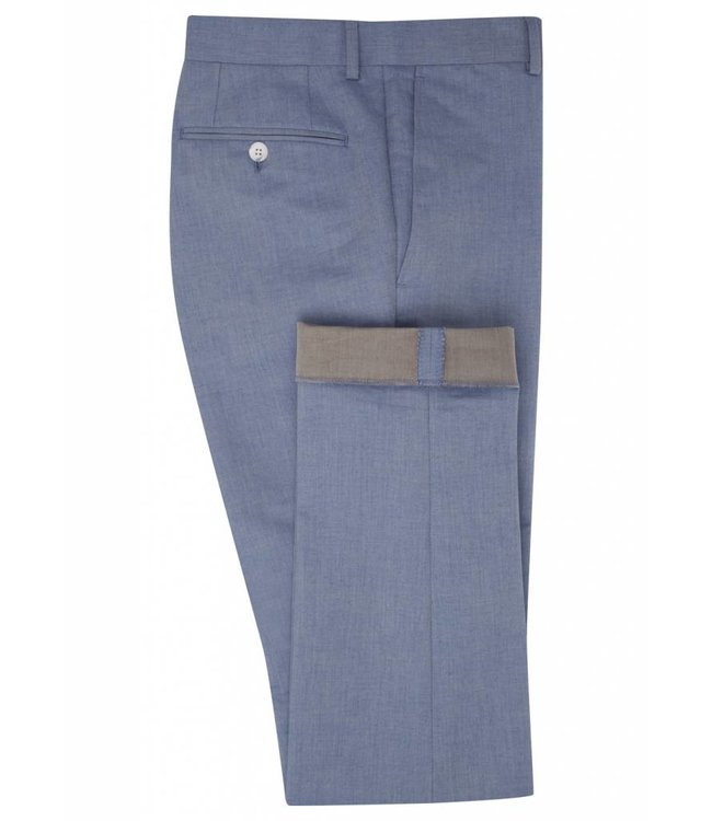 The Rivington Cotton Trousers in Light Blue