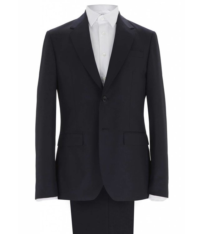 The Hoxton Super Soft Wool Two Piece Suit in Navy
