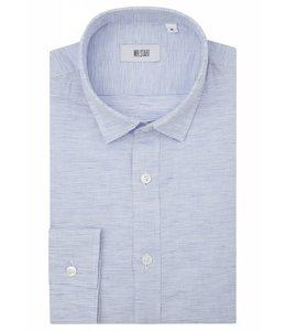 The Truman - White & Blue Weave