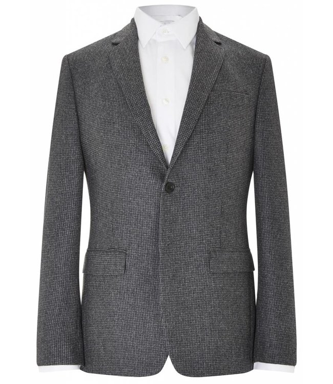 The Pitfield Blazer in Grey Dogtooth
