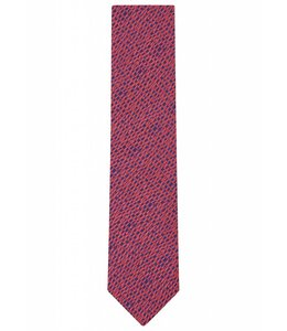 Silk Tie - Abstract Weave