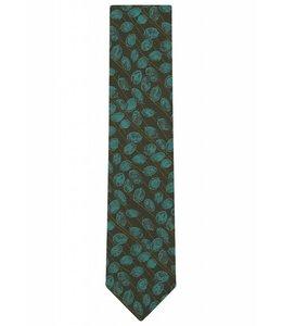 Silk Tie - Leaf Weave