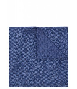Silk Pocket Square - Iridescent Blue